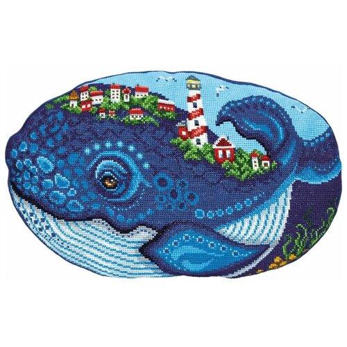 Купить PANNA Набор для вышивания Подушка Кит 43 х 28.5 см (PD-7177), Наборы для вышивания