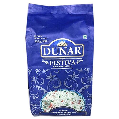 Рис Dunar Басмати Festiva длиннозерный шлифованный 500 г рис длиннозерный националь басмати 500 г