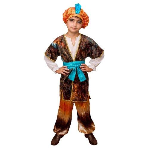 Купить Костюм Elite CLASSIC Восточный принц, коричневый, размер 32 (128), Карнавальные костюмы