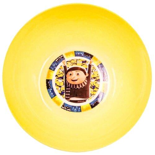 ND Play Миска Миньоны 2 - Миньоны и Грю 13 см желтый printio миньоны