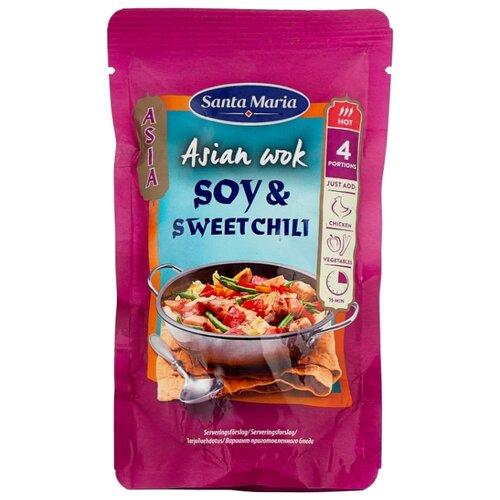 Соус Santa Maria Soy & sweet chili, 150 г соус santa maria dip nacho