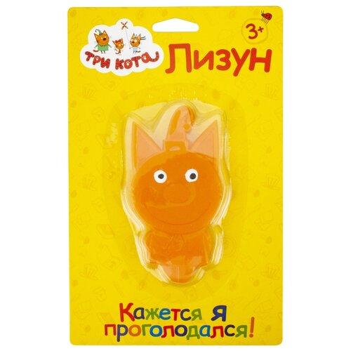 Лизун 1 TOY Три кота Компот Т16660 оранжевый