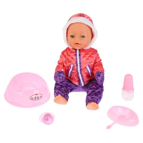 Купить Интерактивный пупс Карапуз Сашенька, 40 см, BL023S-RU_19, Куклы и пупсы