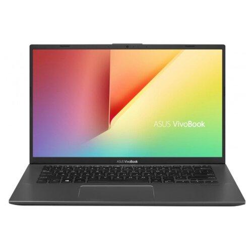 Купить Ноутбук ASUS VivoBook 14 X412FA-EB487T (Intel Core i5 8265U 1600MHz/14 /1920x1080/8GB/256GB SSD/DVD нет/Intel UHD Graphics 620/Wi-Fi/Bluetooth/Windows 10 Home) 90NB0L92-M10830 серый