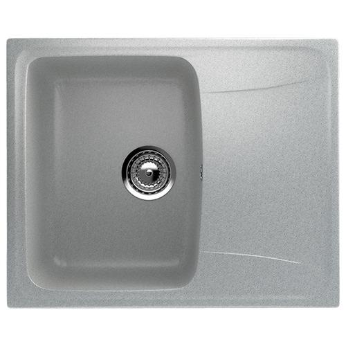 цена на Врезная кухонная мойка 58 см Ulgran U-201 U-201-310 310 серый