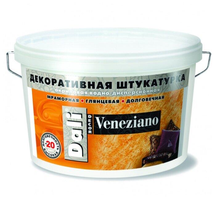 Декоративное покрытие DALI-DECOR Veneziano белый 15 кг - Характеристики - Яндекс.Маркет (бывший Беру)
