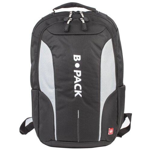 Рюкзак B-PACK S-04 226950 (черный/серый)