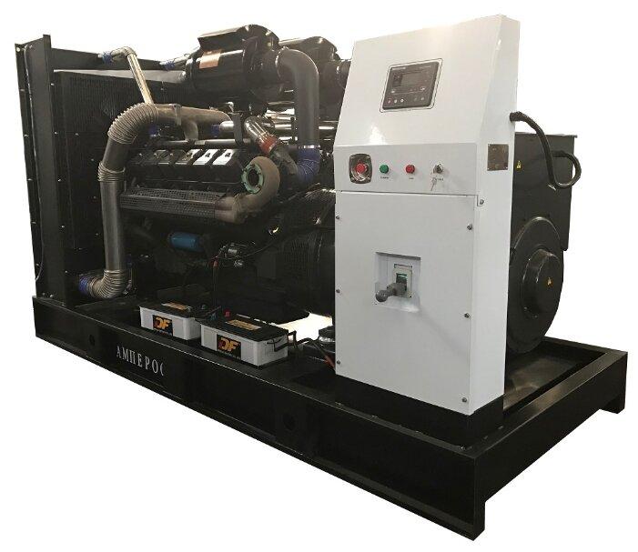 Дизельный генератор Амперос АД 500-Т400 с АВР (500000 Вт)