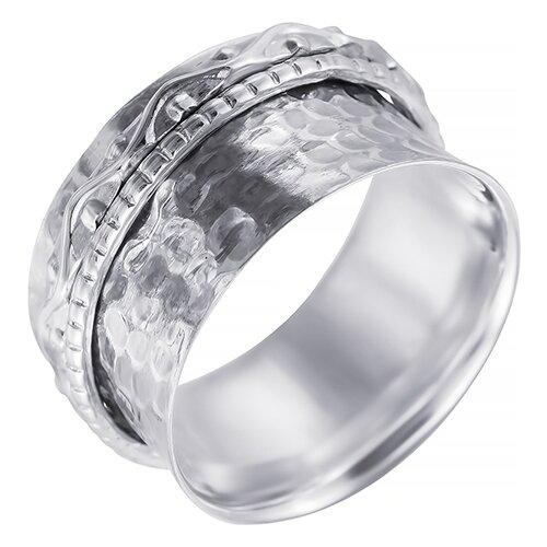 JV Кольцо из серебра SR8007-KO-001-WG, размер 17.5 фото