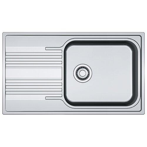 Врезная кухонная мойка 86 см FRANKE SRX 611-86 XL 101.0368.321 нержавеющая сталь/полированная мойка franke agx 260 нержавеющая сталь