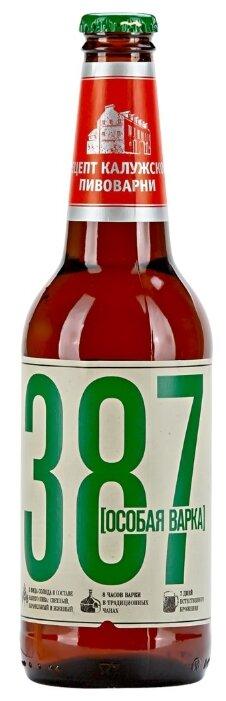 Пиво светлое 387 Особая варка 0.45 л