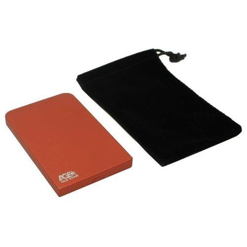 Корпус для HDD/SSD AGESTAR SUB201 красный