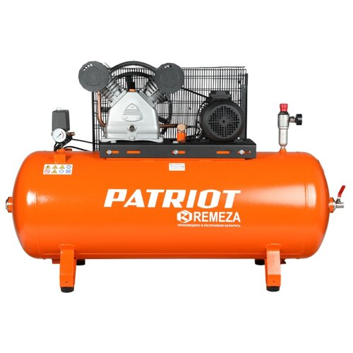 Компрессор масляный PATRIOT REMEZA СБ 4/Ф- 270 LB 50, 270 л, 4 кВт компрессор масляный patriot remeza сб 4 с 200 lb 40 200 л 3 квт
