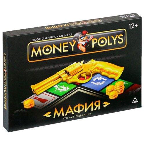 Фото - ЛАС ИГРАС / Детская игра / Обучающая игра / Семейная игра / Настольная экономическая игра MONEY POLYS. Мафия, 12+ настольная детская игра мафия cards