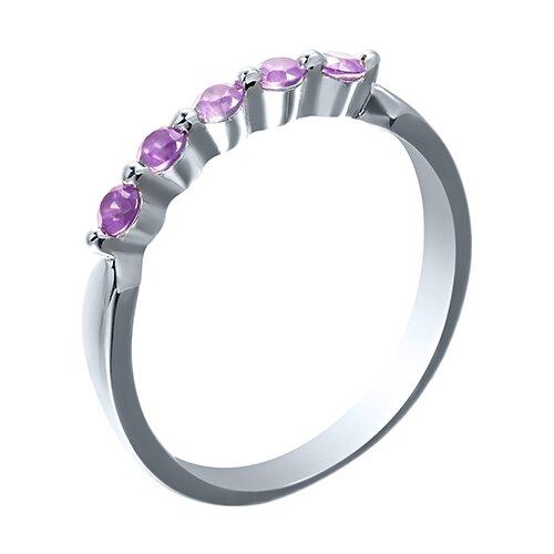 JV Кольцо с фианитами из серебра SY-10862-R-KO-028-WG, размер 18 tamaris 1 1 28108 28 028