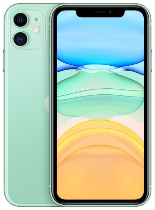 Смартфон Apple iPhone 11 256GB зеленый (MHDV3RU/A) Slimbox - Характеристики - Яндекс.Маркет
