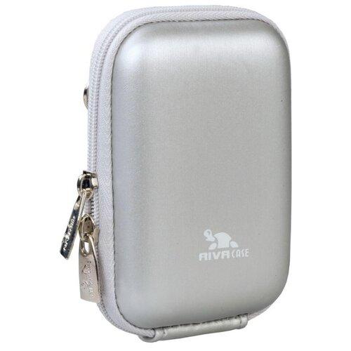 Фото - Универсальный чехол RIVACASE 7022 (PU) silver concise pu leather and chain design crossbody bag for women