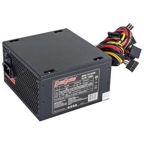 Блок питания ExeGate ATX-450NPX 450W
