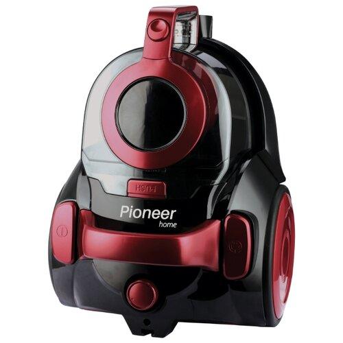 Пылесос Pioneer VC315C красный с черным машинка pioneer toys fire department 26 цвет красный