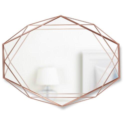 Зеркало настенное PRISMA медь зеркало umbra prisma 56х43 в раме