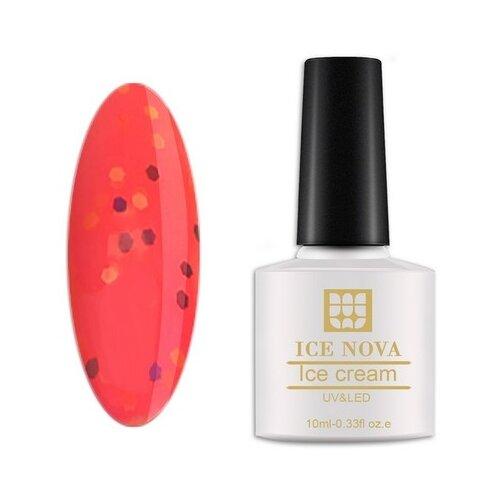 Фото - Гель-лак для ногтей ICE NOVA Ice Cream, 10 мл, 048 гель лак для ногтей ice nova ice cream 10 мл 045