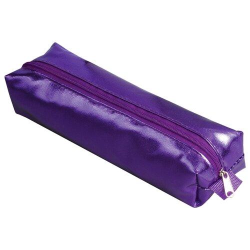 Купить BRAUBERG Пенал-косметичка Винтаж фиолетовый, Пеналы