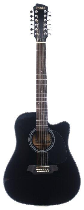 Вестерн-гитара Fabio CDG-20-12 BK Gloss