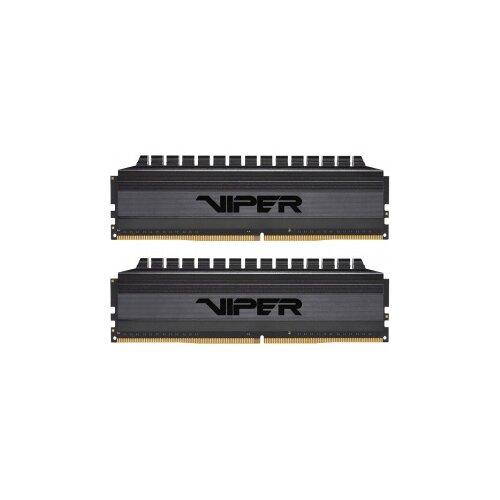 Фото - Оперативная память Patriot Memory VIPER 4 BLACKOUT 16GB (8GBx2) DDR4 4000MHz DIMM 288-pin CL19 PVB416G400C9K оперативная память patriot memory viper rgb 16gb 8gbx2 ddr4 4133mhz dimm 288 pin cl19 pvr416g413c9k