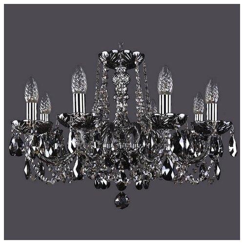 Люстра Bohemia Ivele Crystal 1402 1402/8/195/Ni/M781, E14, 320 Вт люстра bohemia ivele crystal 1402 1402 8 195 g m711 e14 320 вт