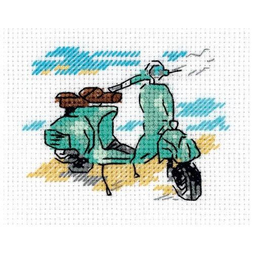 Klart Набор для вышивания Зарисовки. На берегу 10 x 8.5 см (8-388)