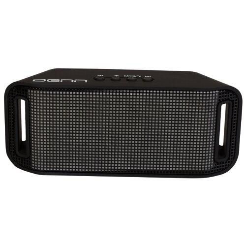 Портативная акустика DENN DBS131 черный denn dhb045 черный