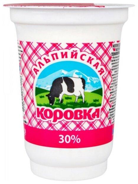 Альпийская коровка Продукт молокосодержащий 30%