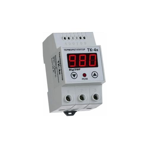 Терморегулятор Digitop ТК-4к белый