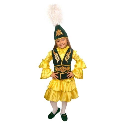 Купить Костюм Elite CLASSIC Казахская девочка, зеленый, размер 34 (134), Карнавальные костюмы