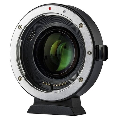 Фото - Адаптер Viltrox EF-EOS M2 для объектива Canon EF на байонет EOS M переходное кольцо flama fl c lr af для объективов leica l r под байонет eos ef w focus chip