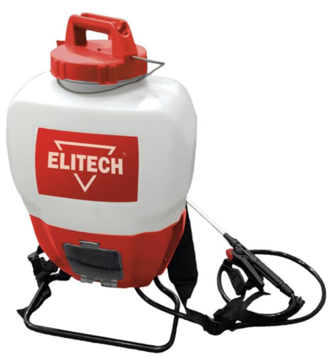 Аккумуляторный опрыскиватель ELITECH ОСА 18/15 E1606.001.00