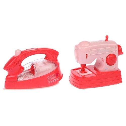Купить Набор Guang Long RD-206 розовый, Детские кухни и бытовая техника