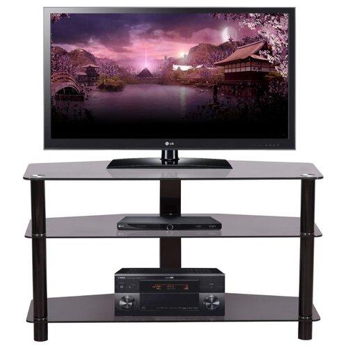 Тумба под телевизор Mart Гранд, ШхГхВ: 105х43х59.5 см, цвет: черный тумба под телевизор mart командор шхгхв 150х50х50 см цвет белый