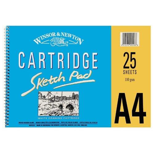 Купить Альбом для эскизов Winsor & Newton Sketching 29.7 х 21 см (A4), 110 г/м², 25 л., Альбомы для рисования