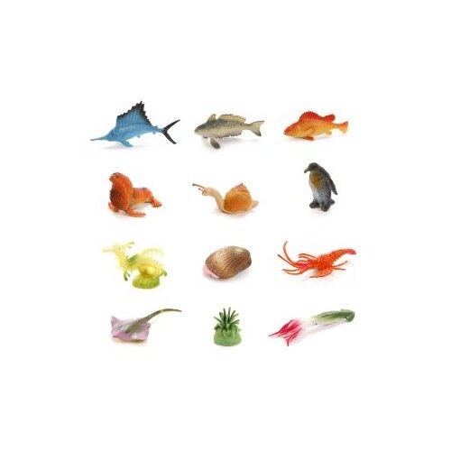 Купить Набор фигурок Морские животные, 12 шт. Наша Игрушка HY01-3, Наша игрушка, Игровые наборы и фигурки