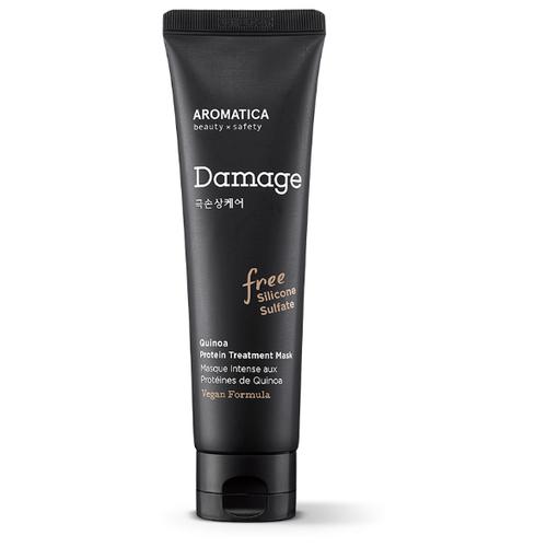 Купить Aromatica Восстанавливающая маска для волос c протеином Quinoa Protein Treatment, 160 мл
