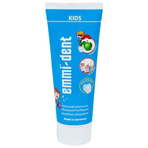 Купить Зубная паста Emmi-dent Kids, 75 мл, синий, Гигиена полости рта