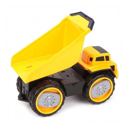 Купить Машинка Bei Yu Jia 6655-1 30 см желтый, Машинки и техника