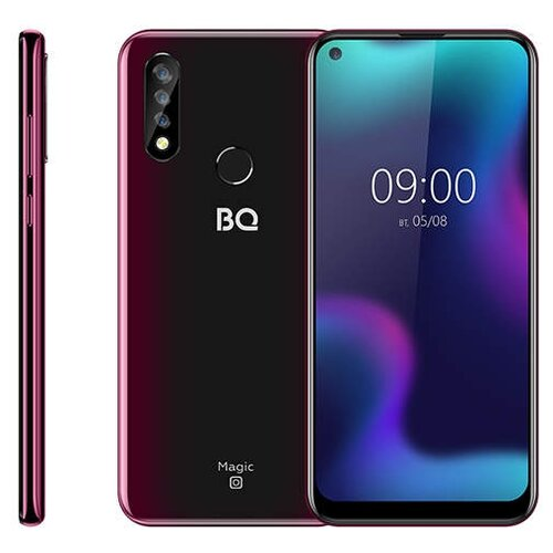 Смартфон BQ 6424L Magic O красно-черный смартфон bq bq 6040l magic black