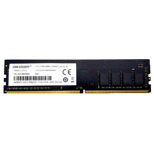 Купить Оперативная память Hikvision DDR4 2666 (PC 21300) DIMM 288 pin, 8 GB 1 шт. 1.2 В, CL 19, HKED4081CAA1D0SA1/8G