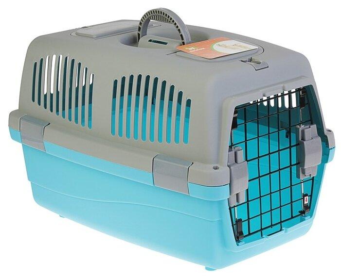 Клиппер переноска для кошек Пижон 3262765/3262766 58х37х37