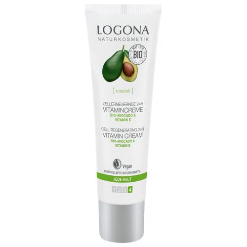 Logona Витаминный крем для лица для клеточного восстановления кожи с био-авокадо и витамином E, 30 мл цена 2017