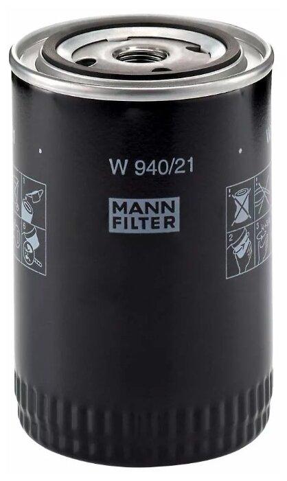 Масляный фильтр MANNFILTER W940/21