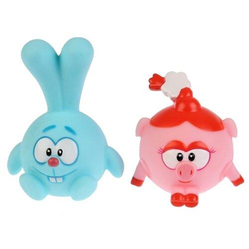 Набор для ванной Капитошка Смешарики. Крош и Нюша (LXSTB36-37-SM) розовый/голубой туфли для девочки капитошка цвет розовый c10841 размер 21