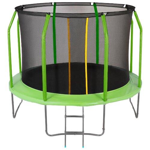 Каркасный батут JUMPY Premium 10 FT 305х305х238 см green